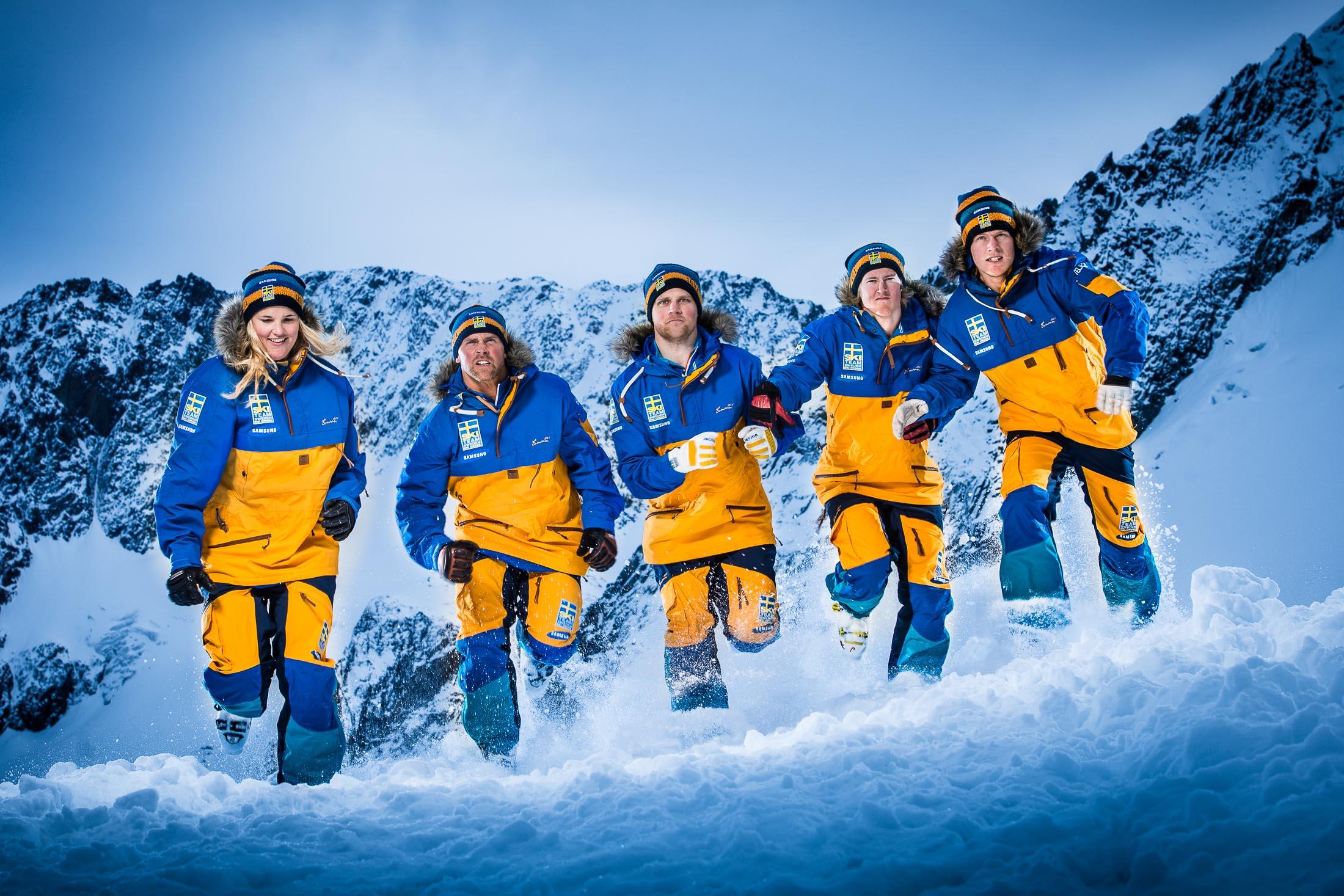 SKI TEAM SKICROSS SWEDEN - Officiella lagbilder till skicrosslandslaget.
